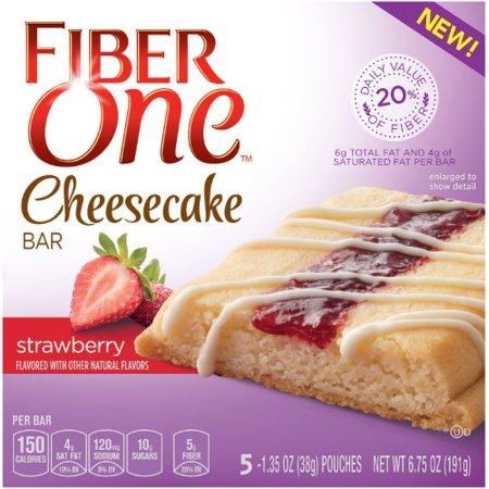 Fiber One Cheesecake Bar, Strawberry