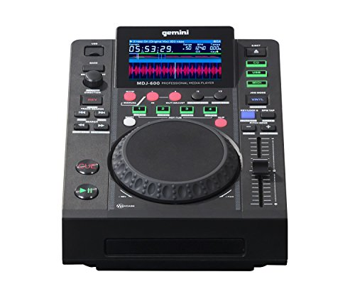 Gemini MDJ-600 Professional Dj USB and CD Media Player w  Color Screen by Gemini