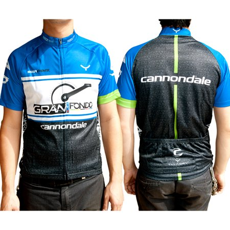 taymory gran fondo usa cannondale cycling jersey miami large usa / x-large - Shebeest Bellissima Cycling Jersey