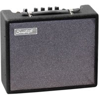 Sawtooth 10-Watt Electric Guitar Amplifier with Treble, Mid, Bass & Overdrive