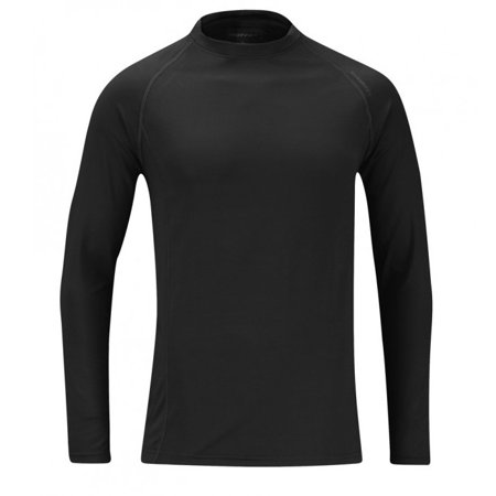 Moisture Wicking Undershirts - Midweight Polyester Spandex Moisture Wicking Odor Control Base Layer Top
