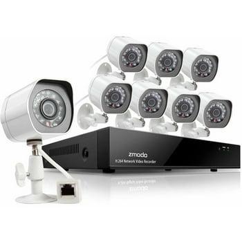 Zmodo 8-Ch, 8-Camera NVR Surveillance Kit