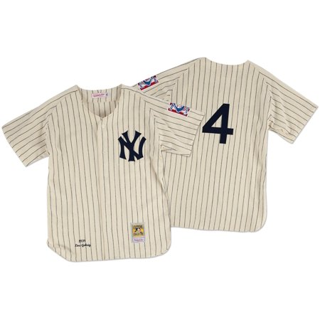 Lou Gehrig New York Yankees Mitchell & Ness Authentic 1939 Button Up Jersey by