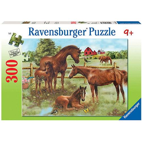 Ravensburger Horse Family Puzzle, 300 Pieces
