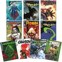 Dc Superhero Comic Book 10-Pack Bundled Set