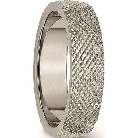 JbSP- Titanium 6mm Textured Band - image 5 de 6