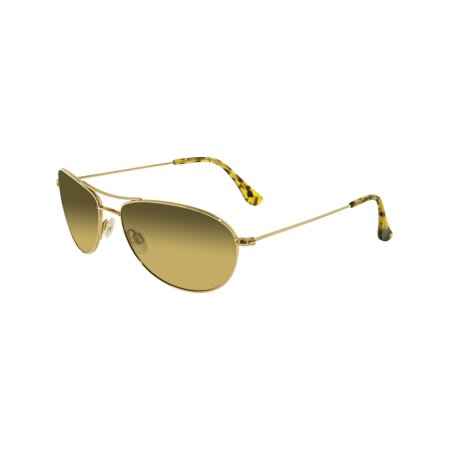 Maui Jim Women's Gradient Baby Beach HS245-16 Gold Aviator - Toddler Aviators