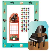 Stationery Set - Musical Instruments