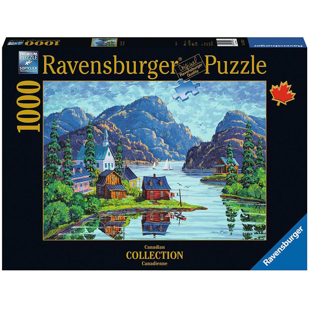 The Saguenay Fjord 1000 Piece Puzzle