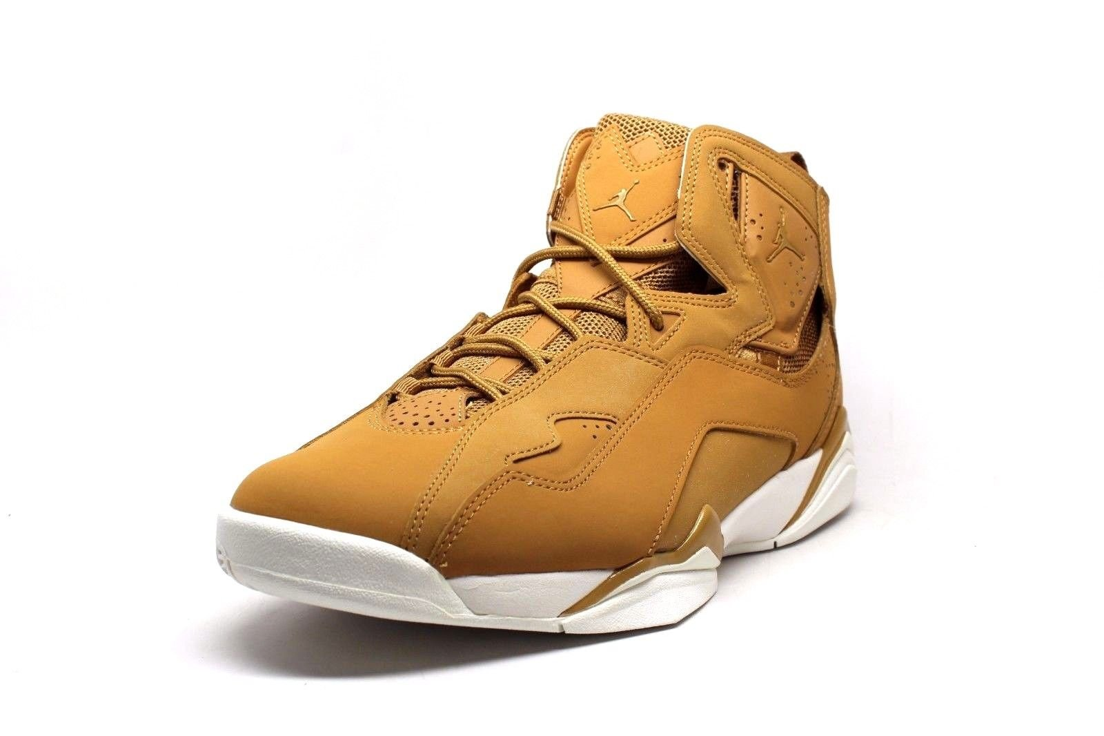 Mens Air Jordan True Flight Golden Harvest Wheat White 342964-725