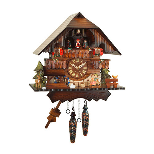 Alexander Taron Engstler Battery Operated Cuckoo Clock by Alexander Taron