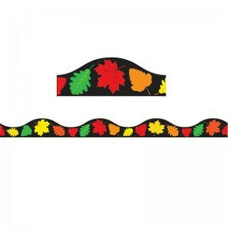 1 in. Magnetic Border Fall Leaves Seasonal - Fall Border