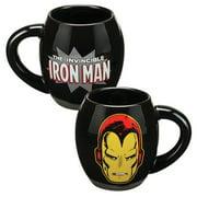Vandor LLC Marvel Iron Man 18 oz. Oval Ceramic Mug