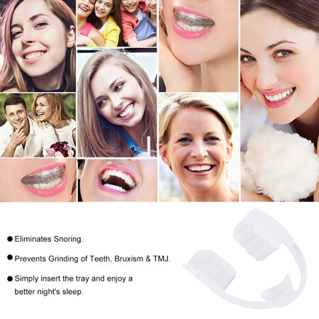 Universal Night Sleep Mouth Guard Stop Teeth Grinding Anti Snoring Bruxism