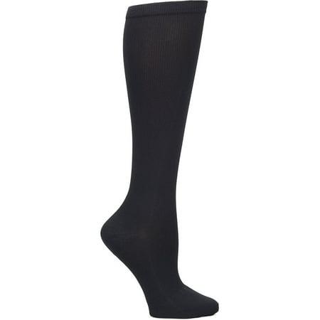 Nurse Mates Women's 12-14 mmHg Wide Calf Compression Trouser Sock