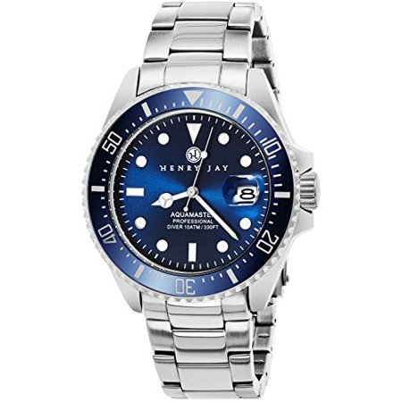 Mens Stainless Steel ǣSpecialty Aquamaster Professional Dive Watch with Date ()