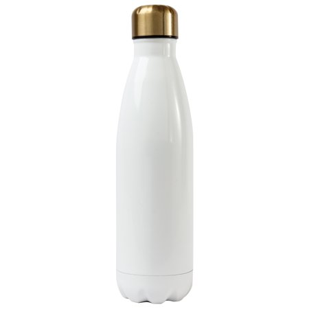 Gold Rush Ss Water Bottle, (Blue Water Lily)
