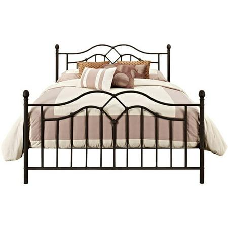 Ash Modern Bed - DHP Tokyo Modern Metal Bed Frame, Bronze, Multiple Sizes