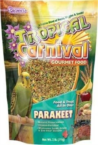 Brown's Tropical Carnival Parakeet Bird Food, 20 Lb by F.M. BROWN'S SONS, INC.