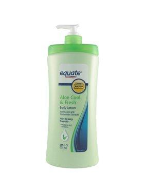 Equate Aloe Cool & Fresh Lotion, 24.5 oz