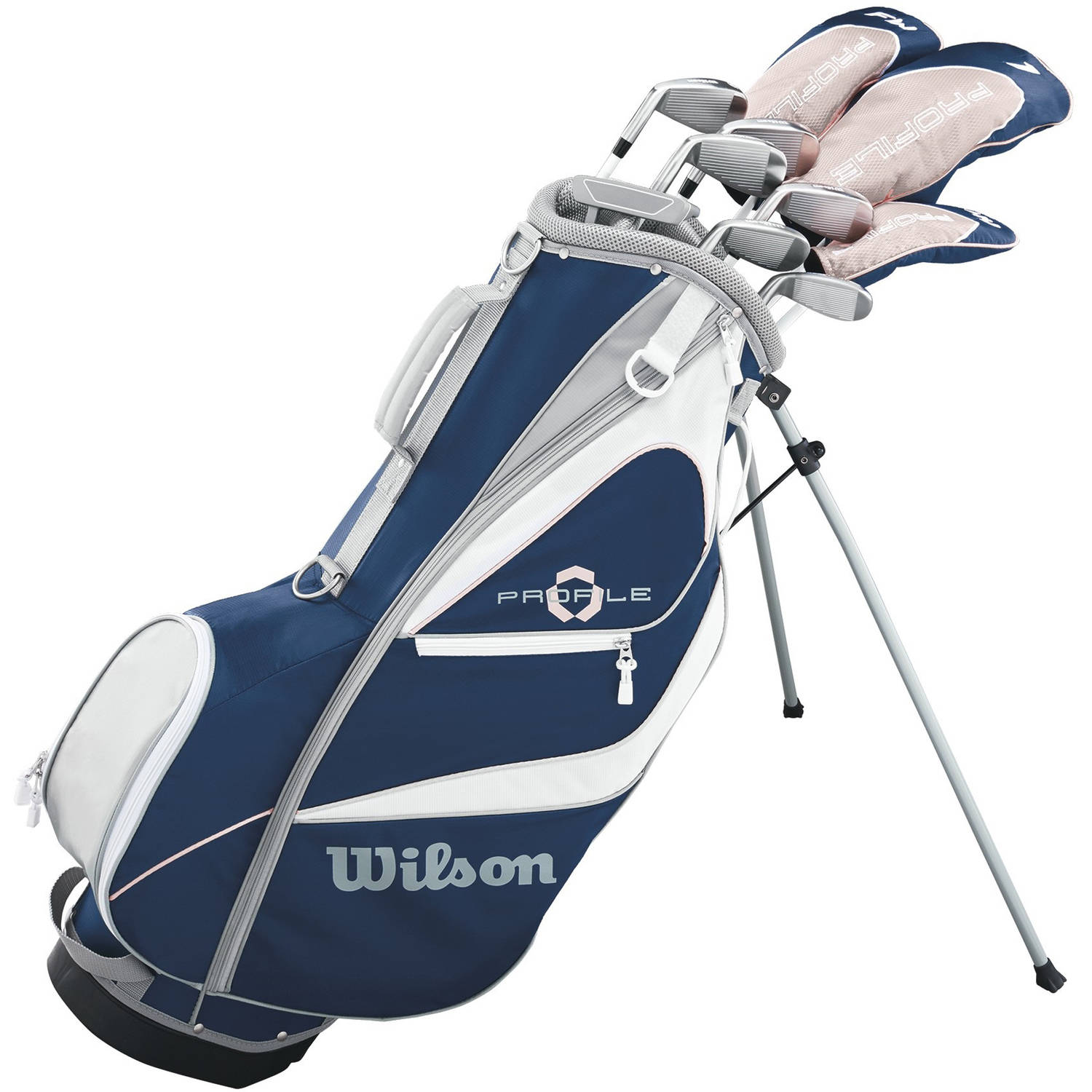Click here to buy Wilson Profile XD Womens Package Golf Set, Petite, Right Handed by Wilson Sporting Goods Co..