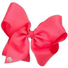 JoJo Siwa Signature Collection Hair Bow - Neon Pink - Neon Pink Hair Bow