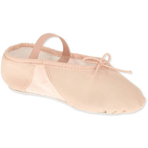 Girls Faux Leather Dance Shoe by
