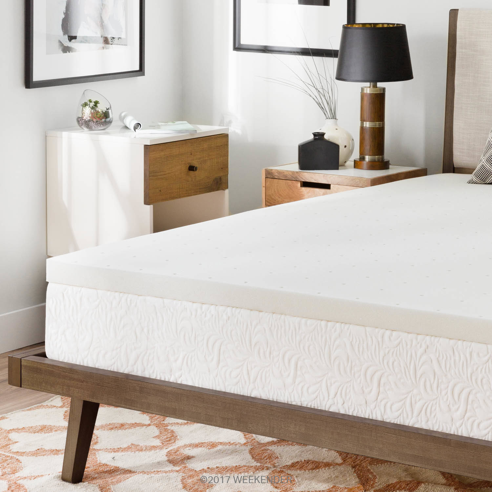 memory foam bed topper. Weekender 2 Inch Ventilated Memory Foam Mattress Topper Memory Foam Bed Topper P