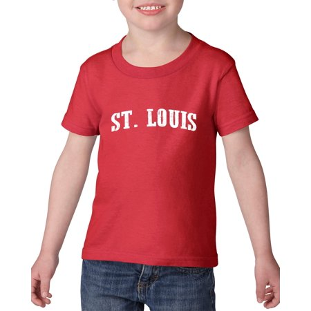 Artix St. Louis MO Missouri Flag Jefferson Kansas Map Tigers Home University of Missouri Heavy Cotton Toddler Kids T-Shirt Tee Clothing