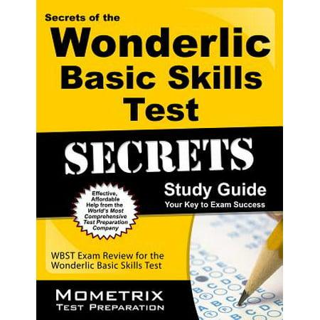 Secrets of the Wonderlic Basic Skills Test Study Guide : Wbst Exam Review for the Wonderlic Basic Skills Test