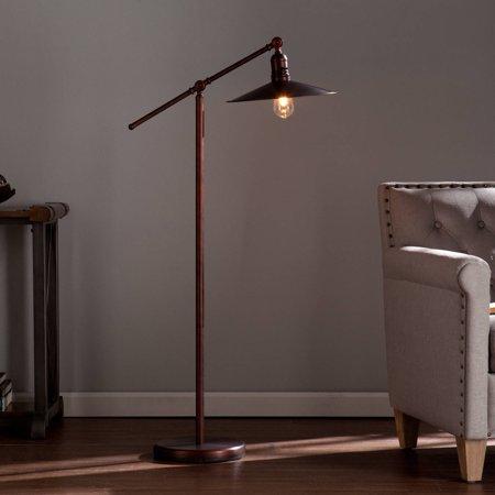 Southern Enterprises Makrim Edison Style Floor Lamp, (Southern Enterprises Lowie Edison Style Floor Lamp Black)