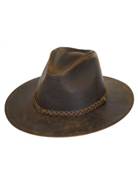 2fe70712090 Product Image Buffalo Leather Western Hat - XL - Black