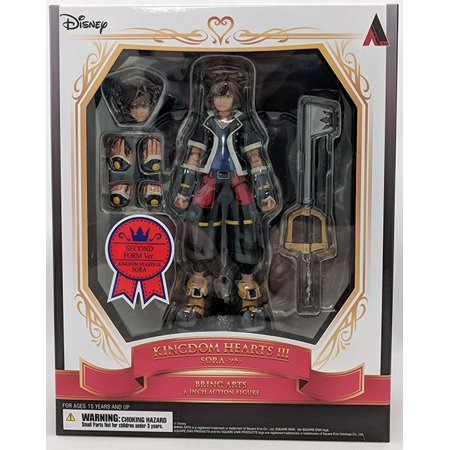 Kingdom Hearts 3 6 Inch Action Figure Bring Arts - Sora 2nd Form