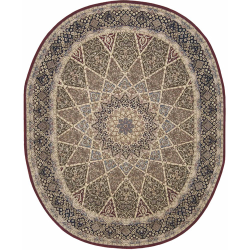 Nourison 2000 Collection Oval Area Rug
