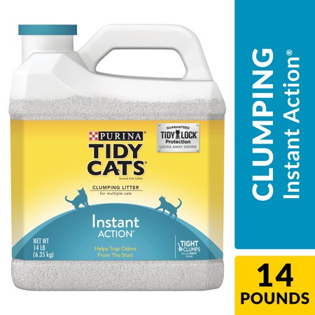 Purina Tidy Cats Scoop (Purina Tidy Cats Clumping Cat Litter, Instant Action Multi Cat Litter - 14 lb. Jug)