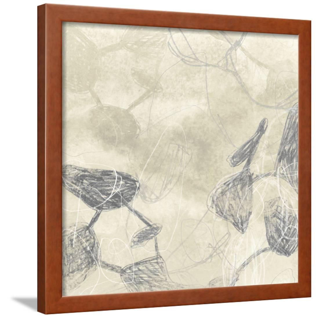 Graphite Inversion I Framed Print Wall Art By June Vess