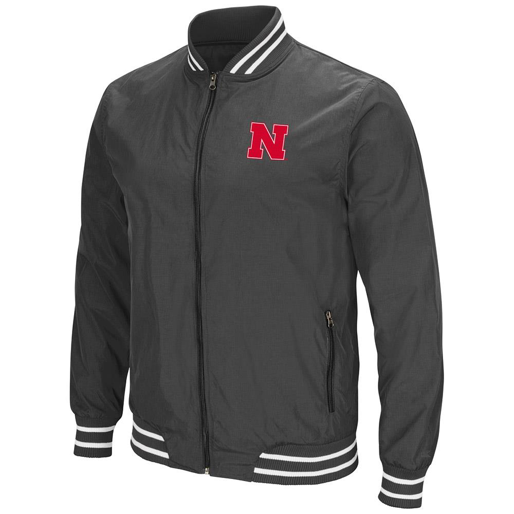 Mens Nebraska Cornhuskers Full Zip Jacket by Colosseum