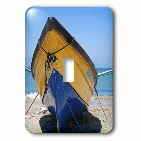3dRose Fishing Boats, Treasure Beach, Jamaica South Coast-CA22 GJO0147 - Greg Johnston - Single Toggle Switch