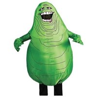 Inflatable Slimer Adult Halloween Costume - One Size