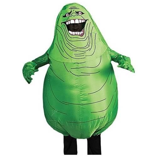 Inflatable Slimer Adult Halloween Costume - One Size - Slimer Inflatable