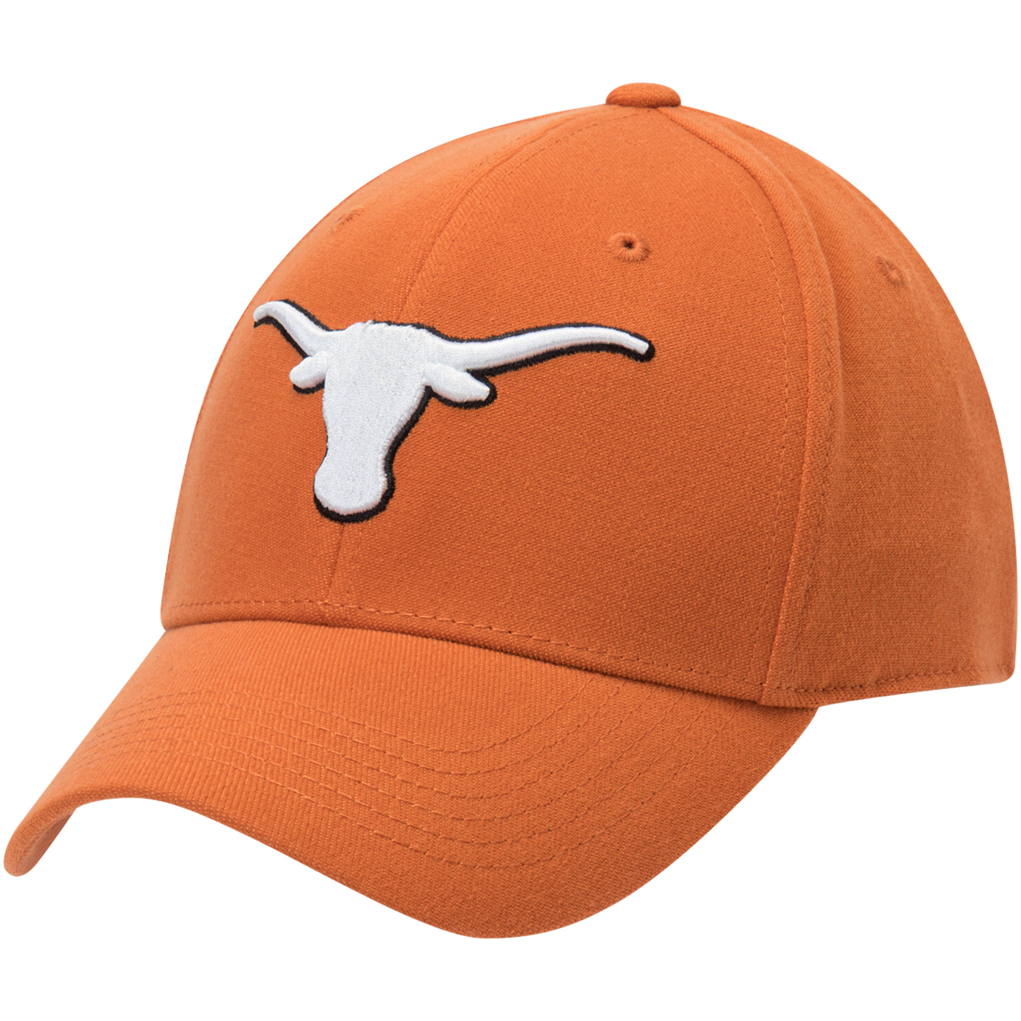 Men's Texas Orange Texas Longhorns Shield Flex Hat