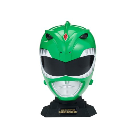 Power Rangers Legacy 1/4 Helmet Mighty Morphin Green-CHILD (Green Power Ranger Mask)