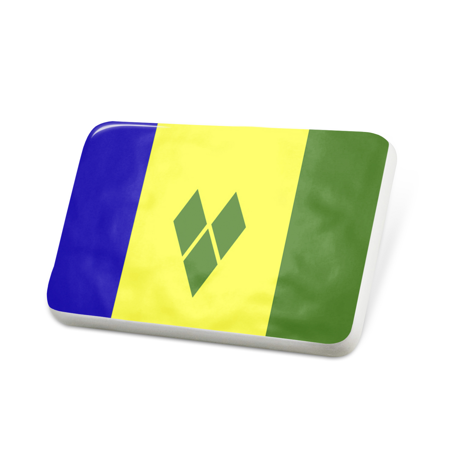 Porcelein Pin St. Vincent and the Grenadines Flag Lapel Badge – NEONBLOND