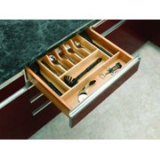 """Rev-A-Shelf 4Wct-3 4Wct Series 20-5/8"""" Wide Trimmable Cutlery Tray"""