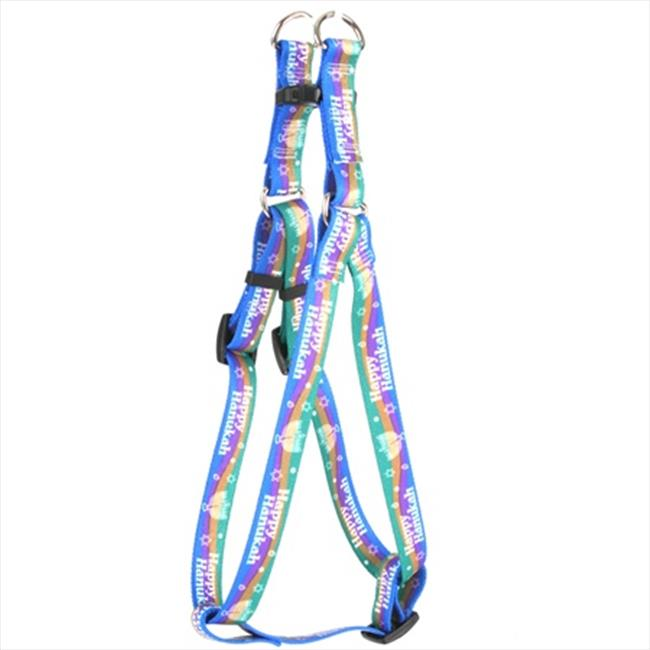Yellow Dog Design SI-HK103L Happy Hanukah Step-In Harness - Large