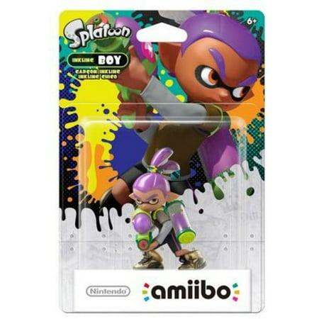 Inkling Boy Alternate Color Splatoon Series Amiibo 2 Pack  Wii U