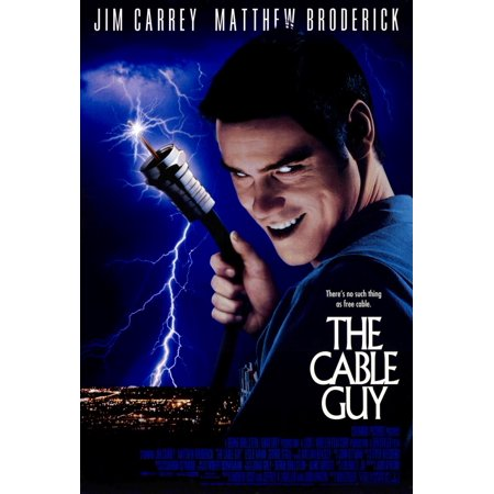 The Cable Guy  1996  27X40 Movie Poster