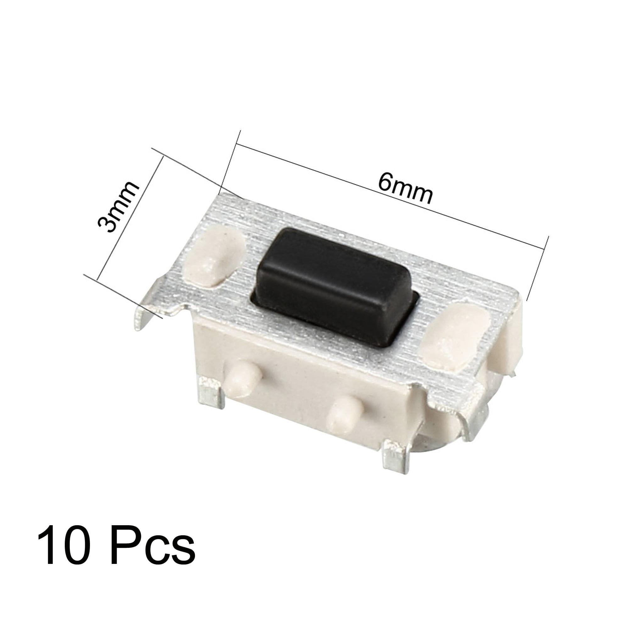 50PCS  2Pin 3x6x2.5mm Momentary Kurzhubtaster Drucktastenschalter SMD SMT PCB