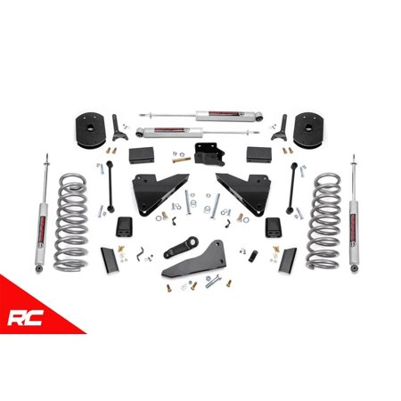 Rough Country Lift Kit Fits 2014-2018 [ Dodge ] Ram 2500 4WD Suspension