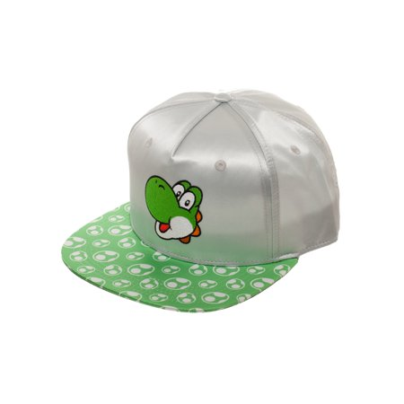 Women's Super Mario Yoshi Flat Bill Hat